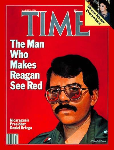 Ortega auf dem Time-Magazin Cover